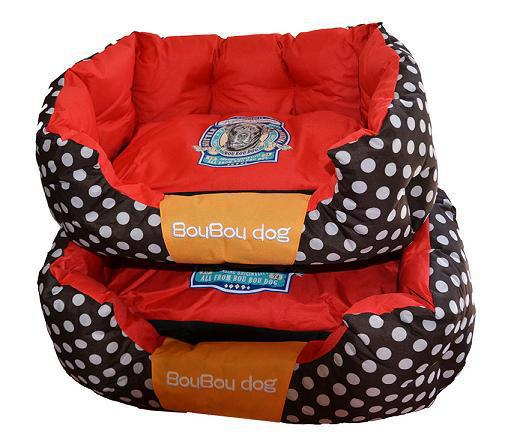 3d2f8b7ab563 Κρεβάτι σκύλου και γάτας DELUXE BED BOUBOU πουά Large