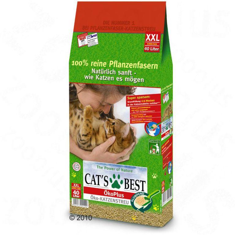 ccd9e0874503 Οργανική άμμος Γάτας Cat s Best Oko Plus 5lt