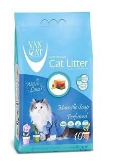 ced1a321d2c8 Άμμος Van Cat με άρωμα σαπούνι μασσαλιας 10kg