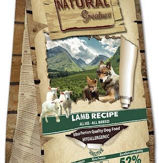 NATURAL GREATNESS lamb 2 ξηρη τροφη σκυλου αρνι 2 κιλα πετοπωλειον