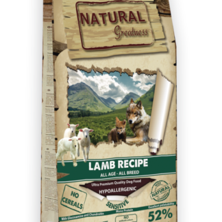 NATURAL GREATNESS lamb arni trofh skulou ξηρα σκυλου αρνι πετοπωλειον