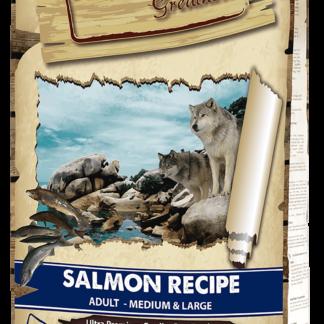 NATURAL GREATNESS salmon 2 ξηρη τροφη σκυλου 12 κιλα σολομος πετοπωλειον