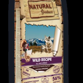NATURAL GREATNESS wild ξηρη τροφη σκυλου κυνηγι πετοπωλειον