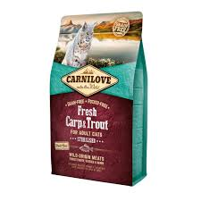 carnilove carp and trour sterilised trofi gatas