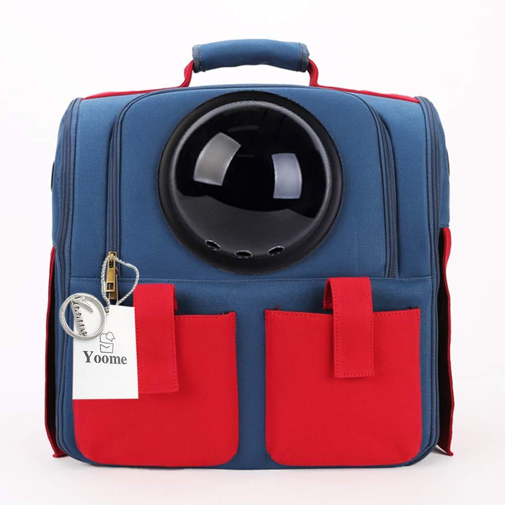 28eafea33421 Τσάντα μεταφοράς σκύλου και γάτας πλάτης Bubble Pet Carrier Υφασμάτινη