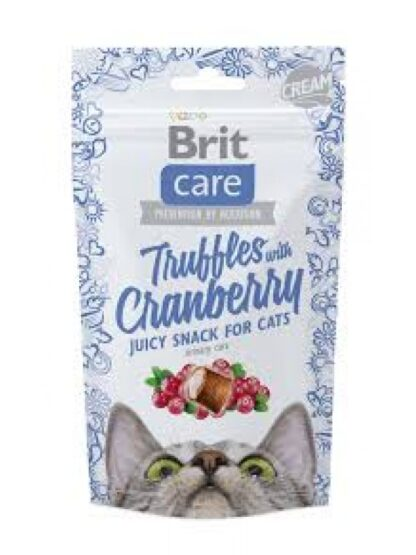 brit care snack gatas cranberry truffles