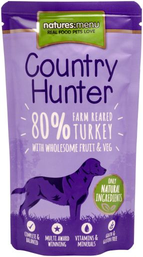 Natures Menu Country Hunter galopoula