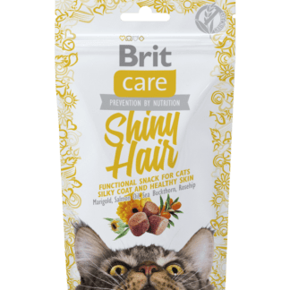 brit care snack shiny hair