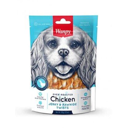 wanpy-chicken-rawhide-twist snack skylou