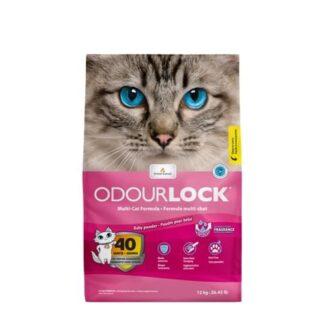 odour lock ammos gatas baby powder