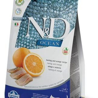 N&D Grain-Free Herring & Orange Adult Cat