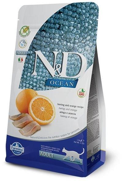 N&D Grain-Free Herring & Orange Adult Cat