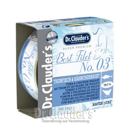 Dr.Clauder's Best Filet No3 Tuna & Chicken Breast