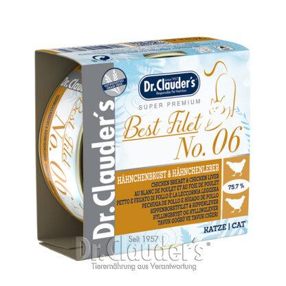 Dr.Clauder's Best Filet No6 Chicken Breast & Chicken Liver