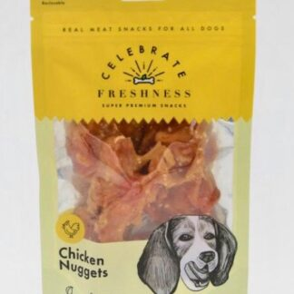 Chicken Nuggets celebrate freshness dog snack