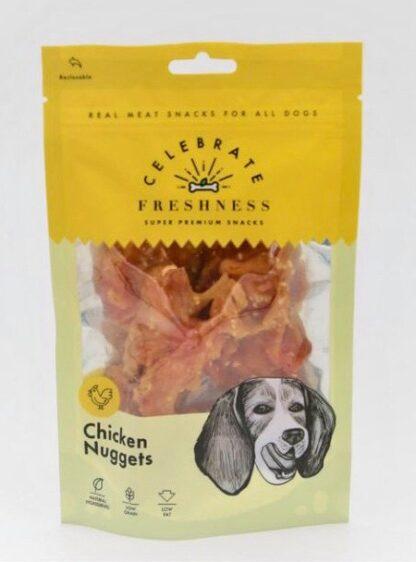 Chicken Nuggets celebrate freshness dog snack