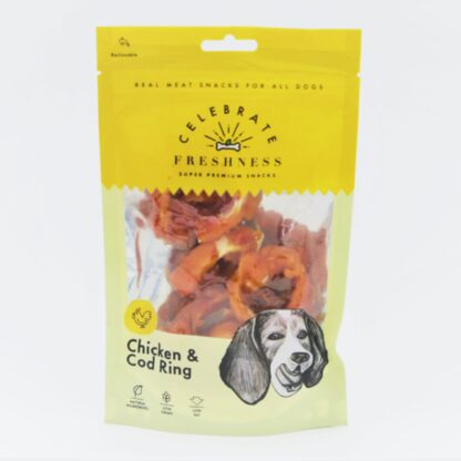 Chicken and Cod Ring celebrate freshness