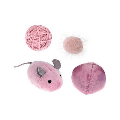 Feribiella cat toy set pink set paixnidiwn gatas