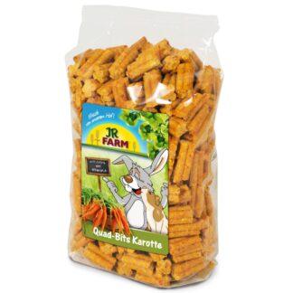 JR FARM Quad-Bits Καρότο lixoudies karoto snack kouneliou petopoleion