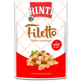 Rinti Filetto Φιλέτο Κοτόπουλο με Μοσχάρι 100gr