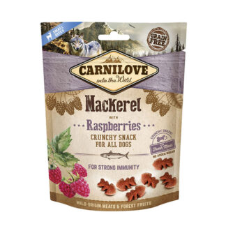 Carnilove mackerel crunchy dog snack small bites