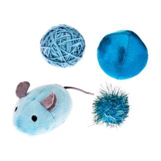 ferribiella cat toy mix blue set paixnidiwn gatas petopoleion