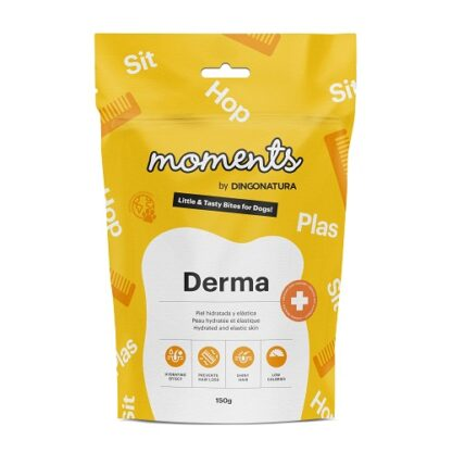 MOMENTS FUNCTIONAL DERMA 150g dog snack petopoleion