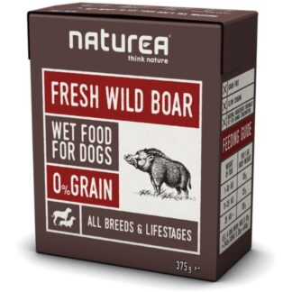 naturea wild boar dog wet food naturea petopoleion konserva skulou