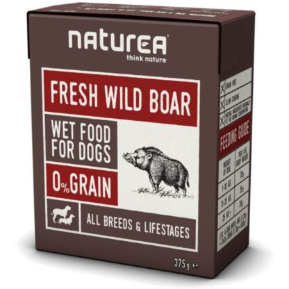 naturea wild boar dog wet food naturea petopoleion konserva skulou