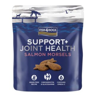 Fish4Dogs Joint Health Salmon Morsels 225g dog snack lixoudia πετοπολειον