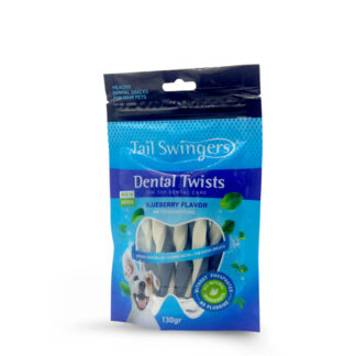 Tail Swingers Dental Twists με μυρτιλο 130gr