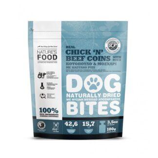 dog bites chick n beef coins