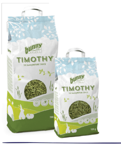 bunny timothy hay