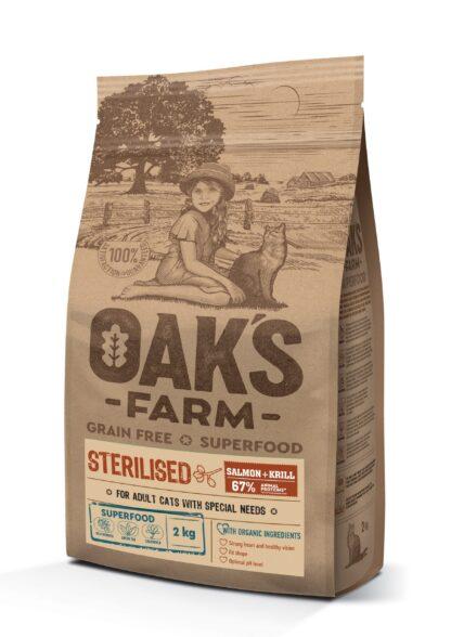 oaks farm salmon krill