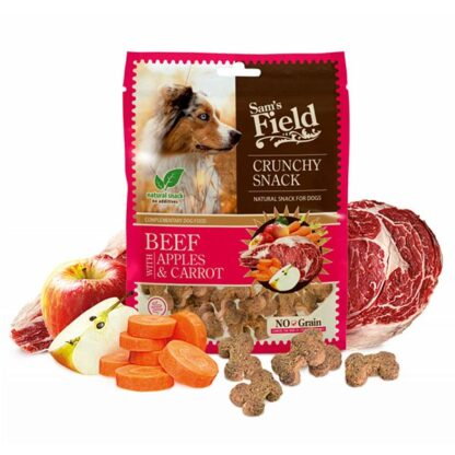 Sam's Field Crunchy Snack Beef with Apples & Carrot