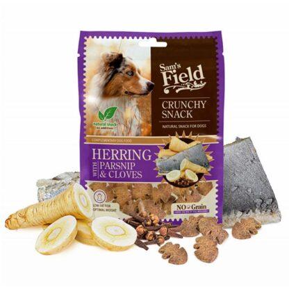 Sam's Field Crunchy Cracker Herring with Parsnip